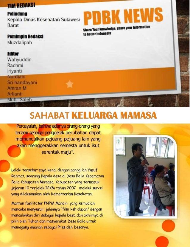 PDBK News Sulbar : Edisi Oktober 2013