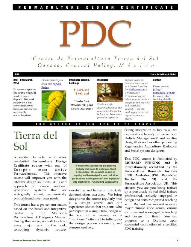 Pdc mar2014 info