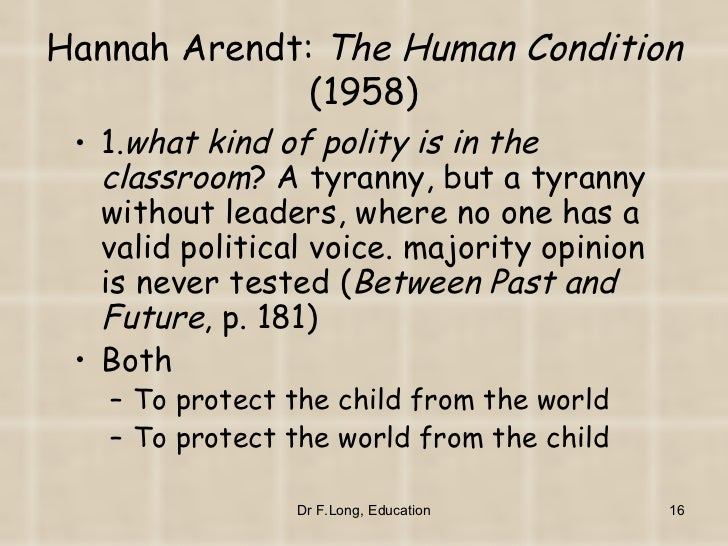 hannah arendt violence essay A short and, for miss arendt, less stylish essay on political violence.