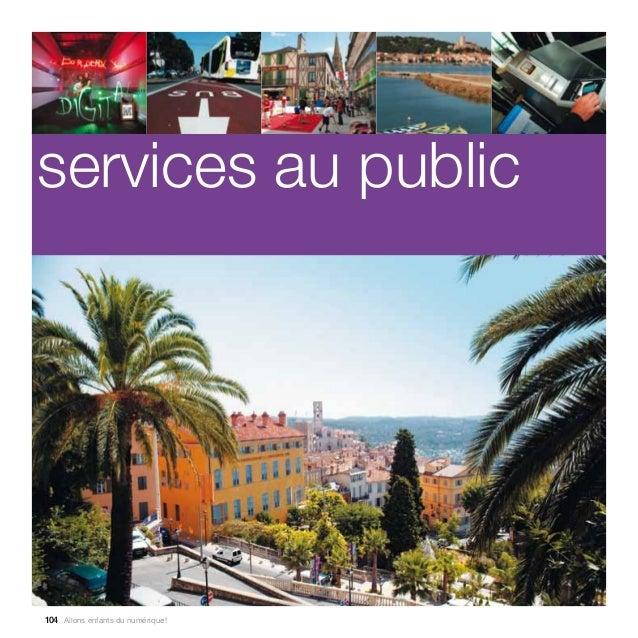 Tome 8 : services au public