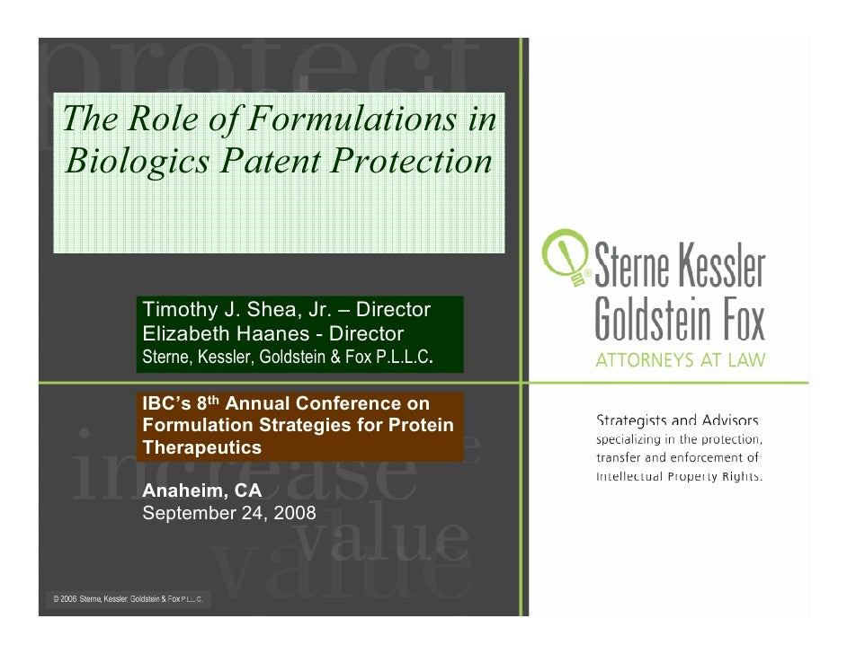 SKGF_Presentation_The Role of Formulations in Biologics Patent Protection_08