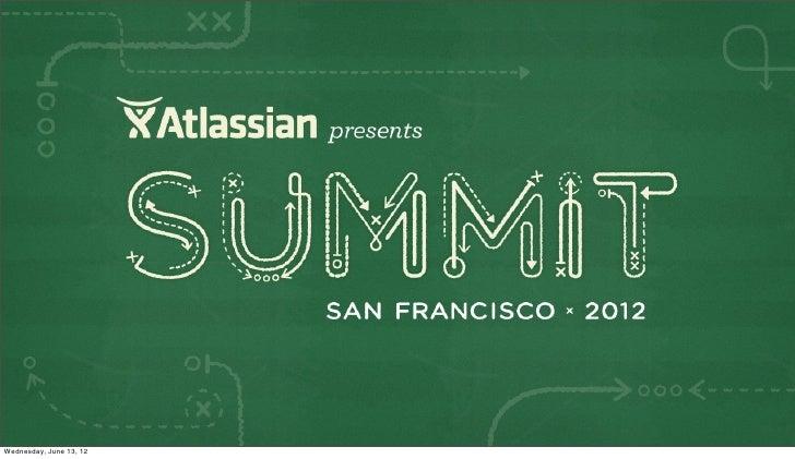 Bitbucket as a Platform - Atlassian Summit 2012