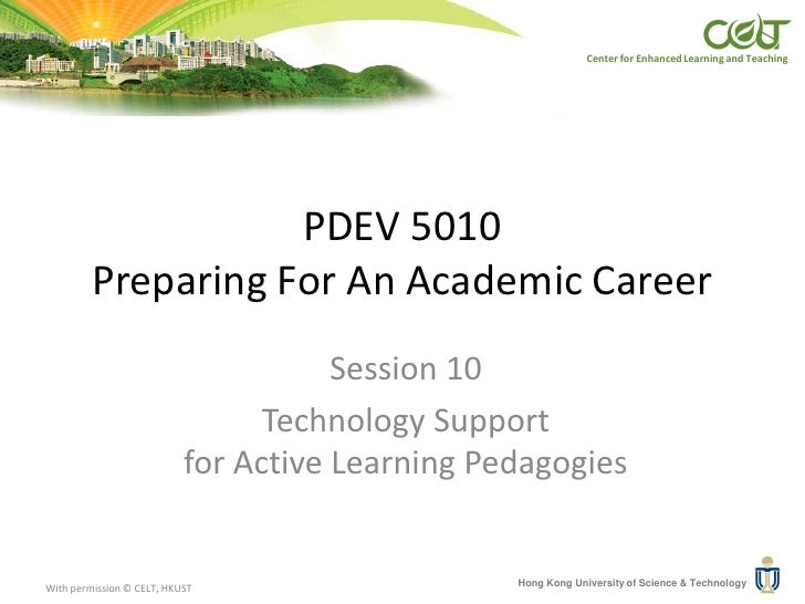 Pdev5010 session 10_technology_support_for_active_learning_pedagogies
