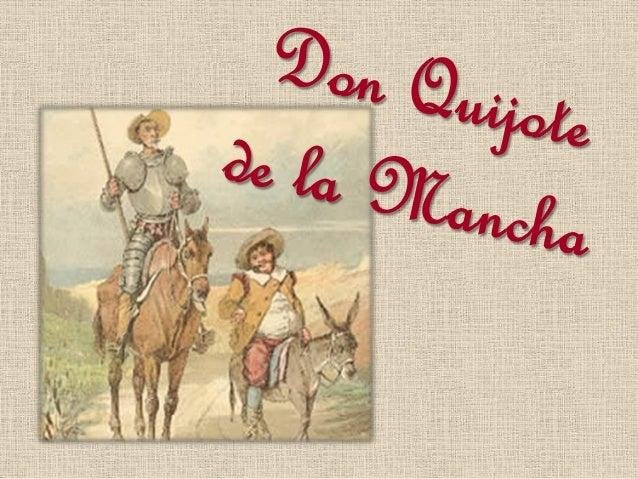 Cervantes y Don Quijote