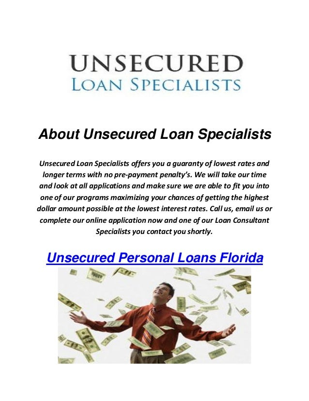 Low interest rate unsecured personal loan