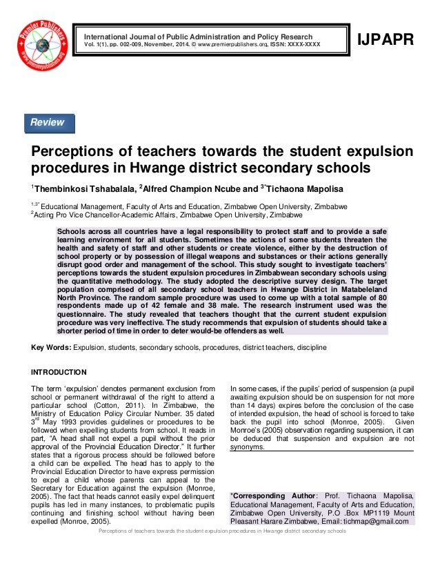 the perception of secondary school teachers Integrated business studies curriculum in public secondary schools in nandi  east district  what are the perceptions of teachers towards the revised.