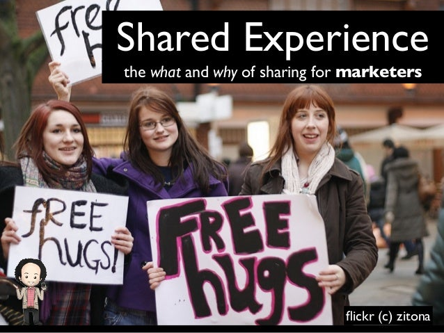 Shared Experience the what and why of sharing for marketers  flickr (c) zitona