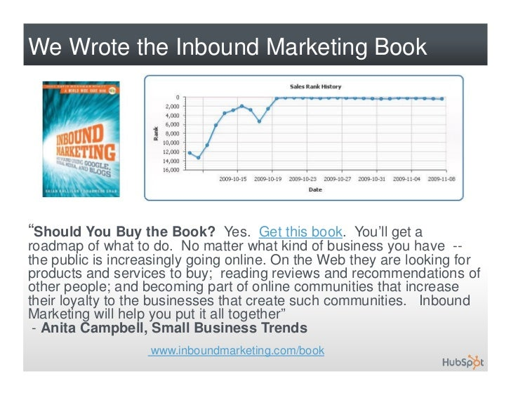 hubspot inbound marketing and web 2 0 Adjust pricing to drive customer retention hubspot builds web-based software products that help companies execute inbound marketing programs to.