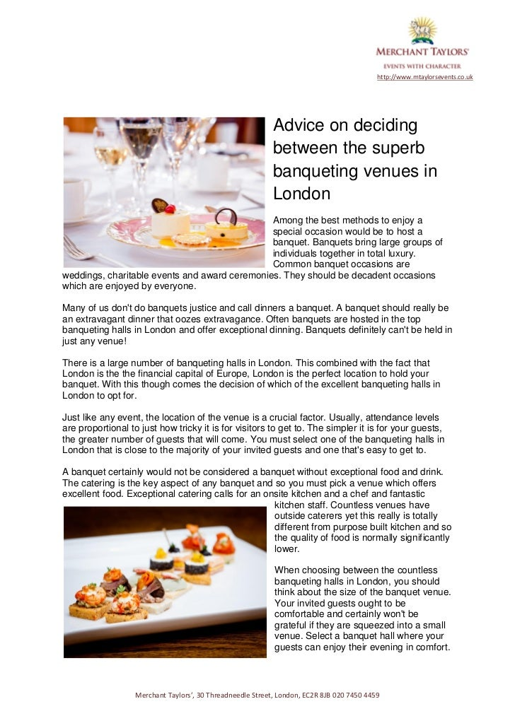 http://www.mtaylorsevents.co.uk                                                            Advice on deciding             ...