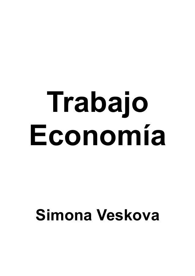 Trabajo Economía Simona Veskova