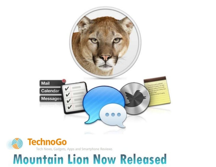 Mountain Lion Now Released