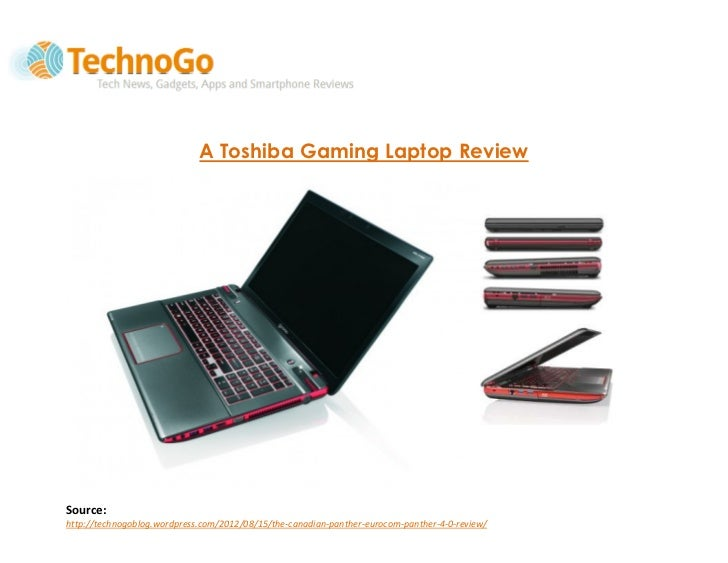 A Toshiba Gaming Laptop Review