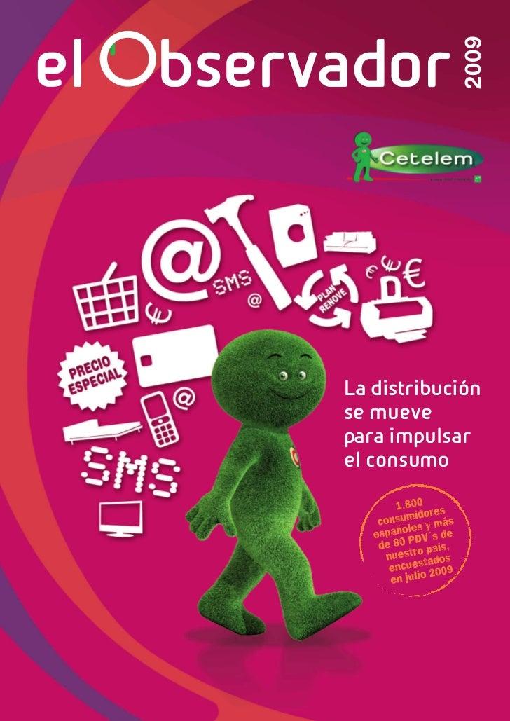 Cetelem Observador 2009 Distribución: principales novedades