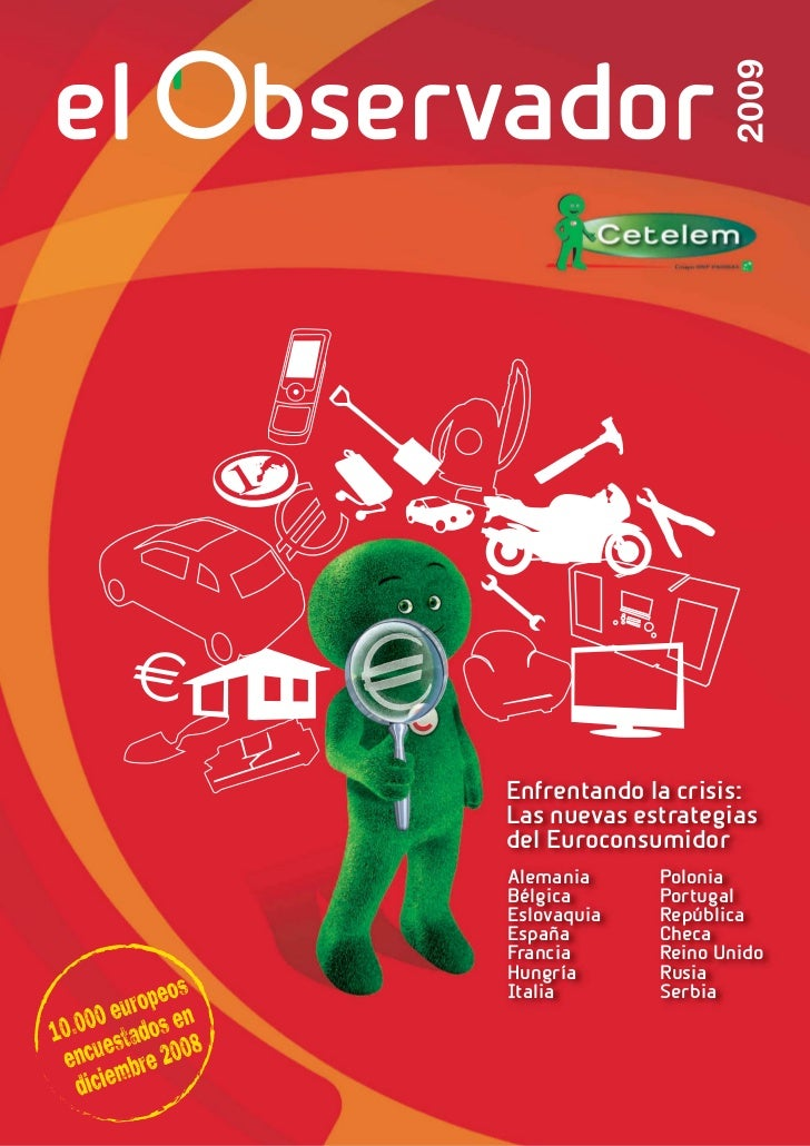 Cetelem Observador 2009 Europeo: estrategias frente a la crisis