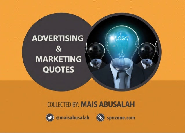 Marketing and Advertising Quotes - Updated