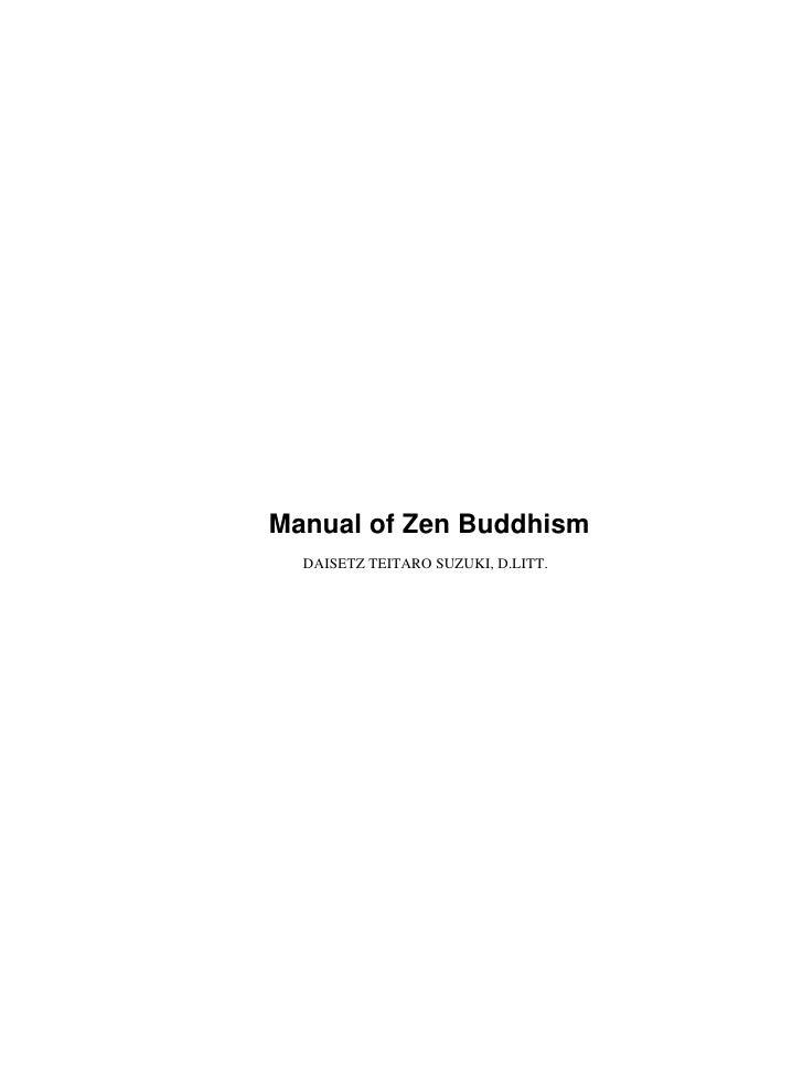 (Pdf)   Buddhist Ebook   Buddhism   Manual Of Zen Buddhism