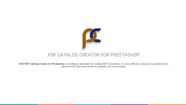 ovo pdf catalog creator for prestashop