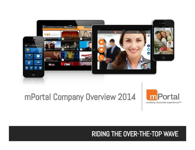 mPortal Company Overview - Mobile Experience Platform