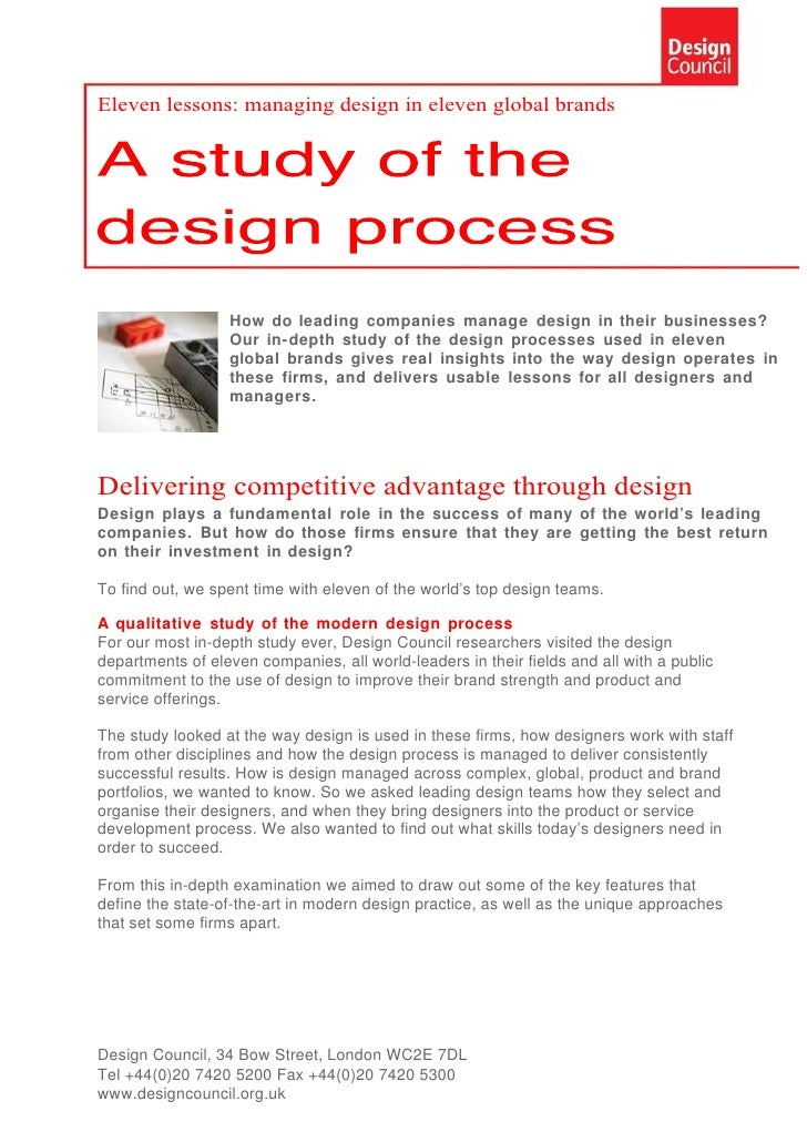 Eleven Lessons Complete Studio UK Design Council