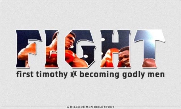 Hillside Men - 1 Timothy 4:1-5