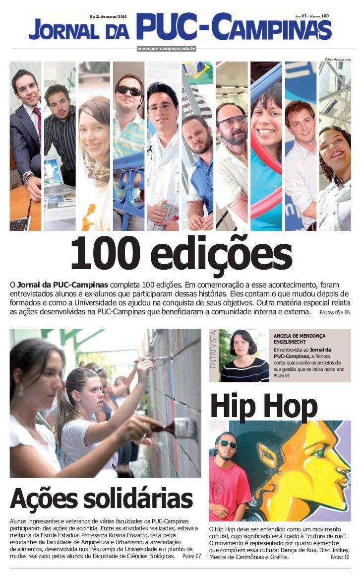 Jornal da PUC-Campinas_edição 100