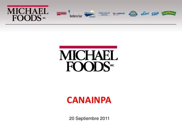 CANAINPA20 Septiembre 2011