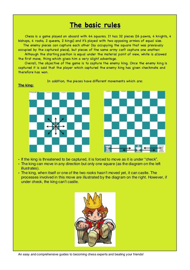 Chess rules for kids the basic rules chess is a