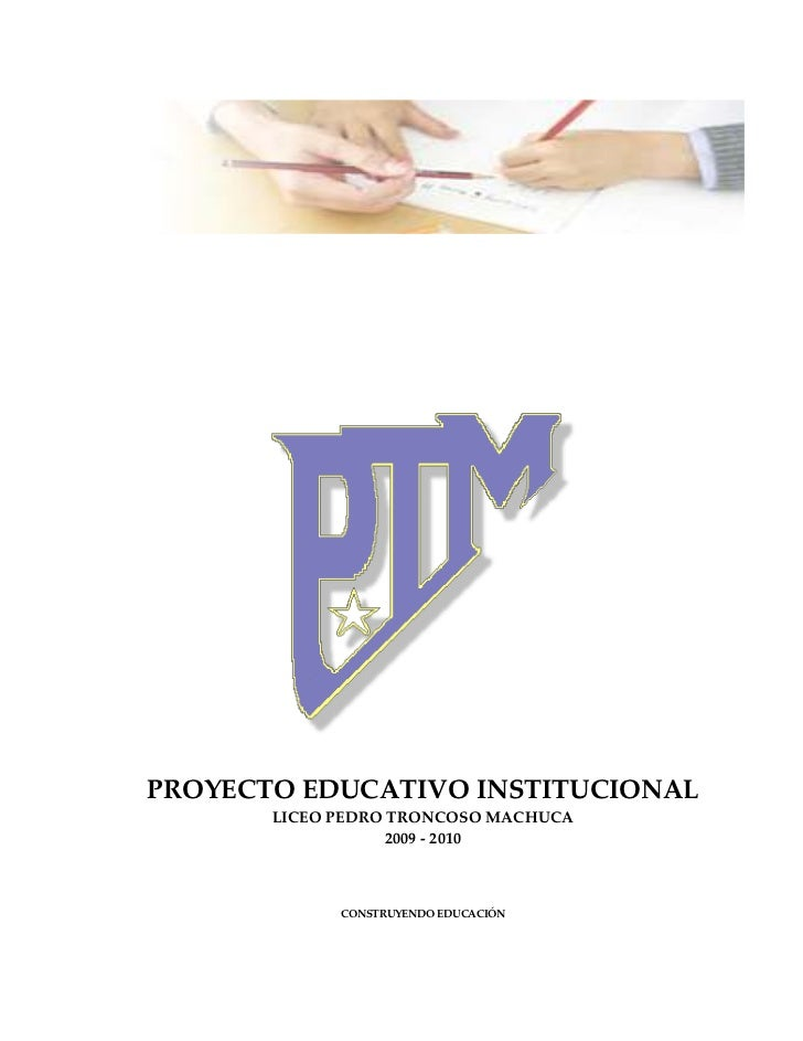 Proyecto Educativo Institucional 2009-2010