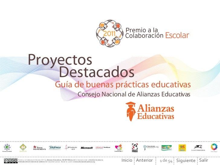 Proyectos                Destacados                                                 Guía de buenas prácticas educativas   ...