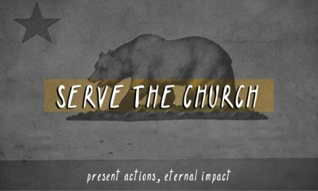 Serve the Church