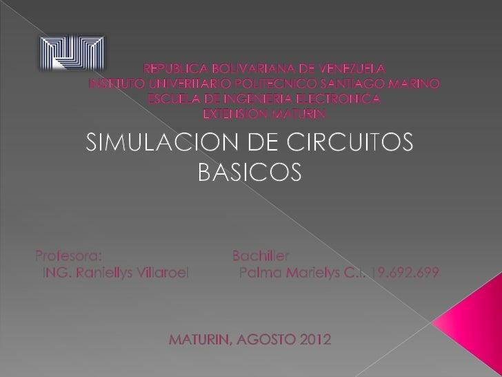 El circuito que se vera acontinuacion está compuesto por resistenciasde diferentes valores, una fuente de poder y un switc...