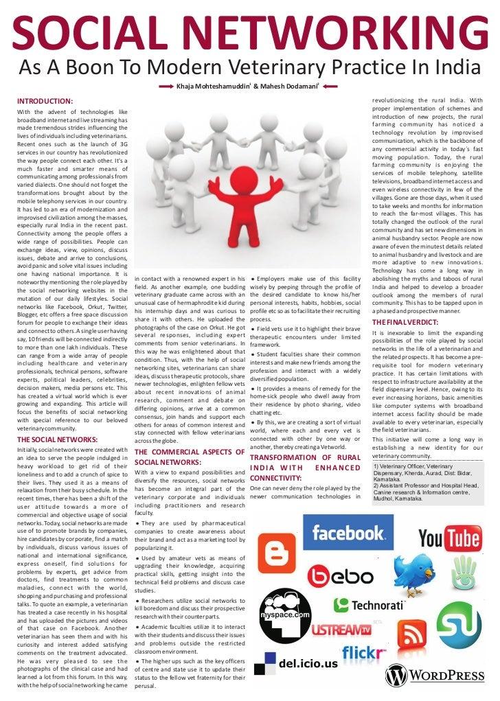 Essays on social media
