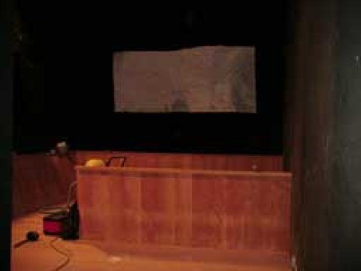 Video Projection Lascaux 2009