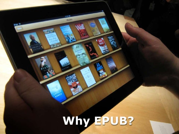 Why EPUB?