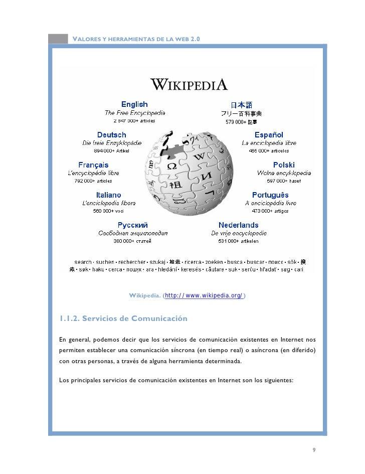 Herramientas Con Filosofia Web 2.0 Herramientas de la Web 2.0