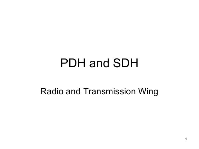Pdh and sdh1