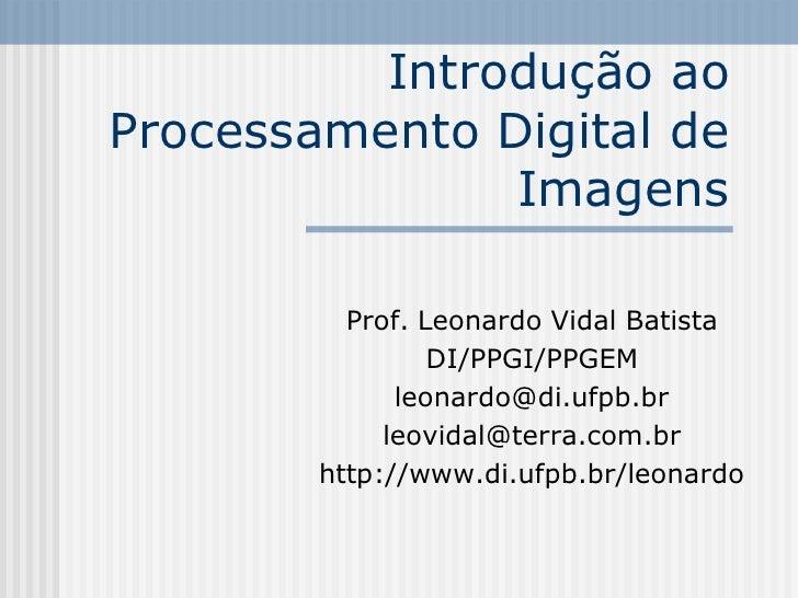 slides PDI 2007 leonardo