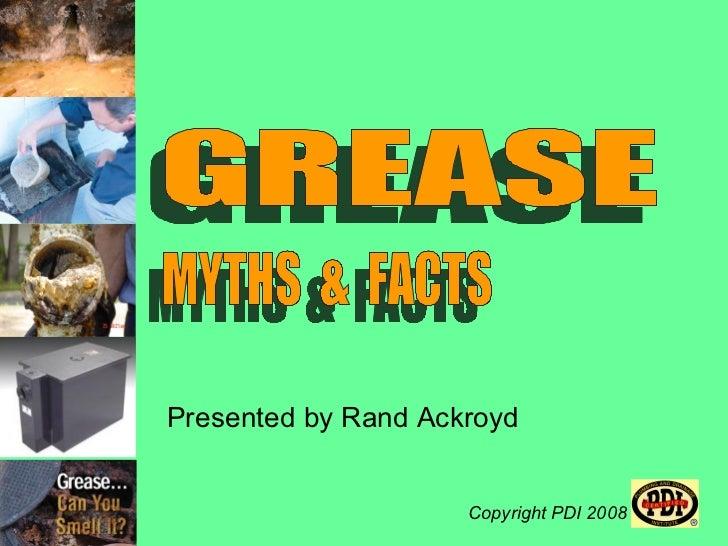Presented by Rand Ackroyd                     Copyright PDI 2008