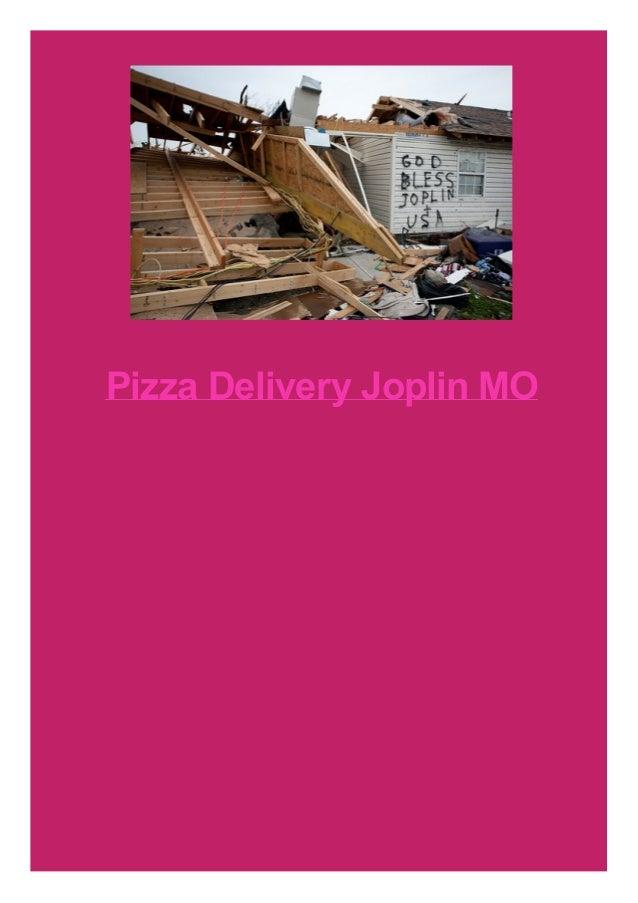 Pizza Delivery Joplin MO
