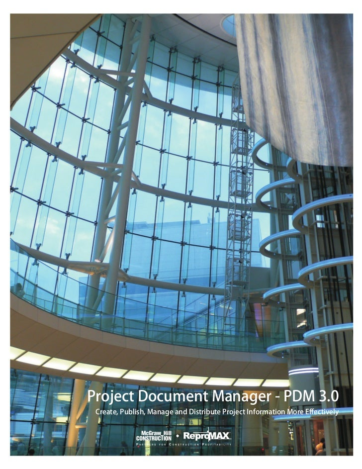 Project Document Manager - PDM 3.0 Brochure