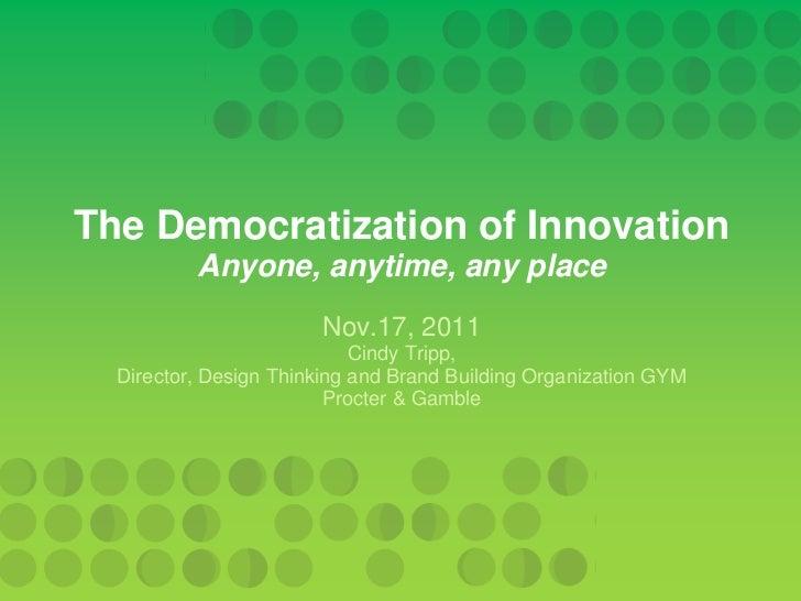 Cindy Tripp - Design Thinking