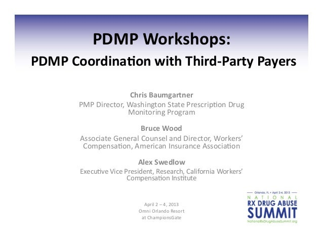 Pdmp coordination with_third-party_payers_final