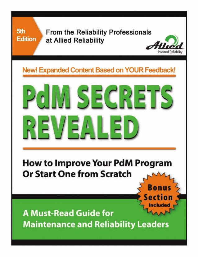 PdM Secrets Revealed White Paper