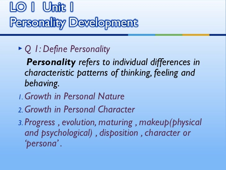 "sociology assignment personality development Therefore, peer groups have stronger correlations with personality development than parental figures do gender socialization henslin contends that ""an important part of socialization is the."