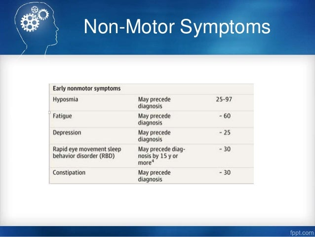 Parkinson 39 S Disease Presentation