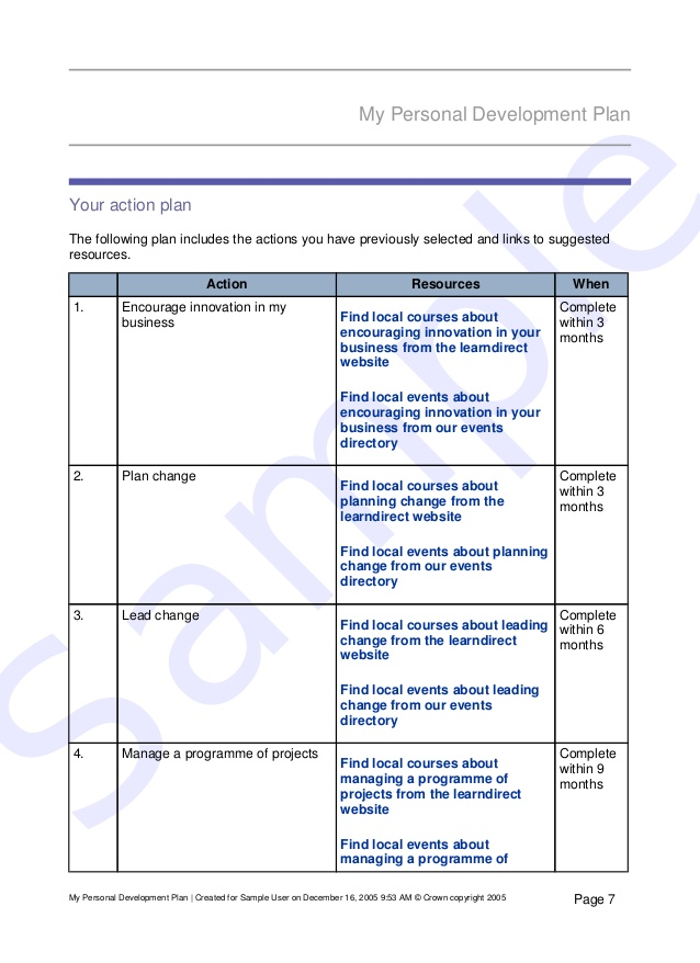 development action plan template | trattorialeondoro