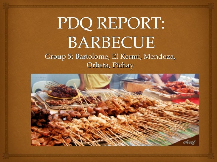 Pdq report Group 5