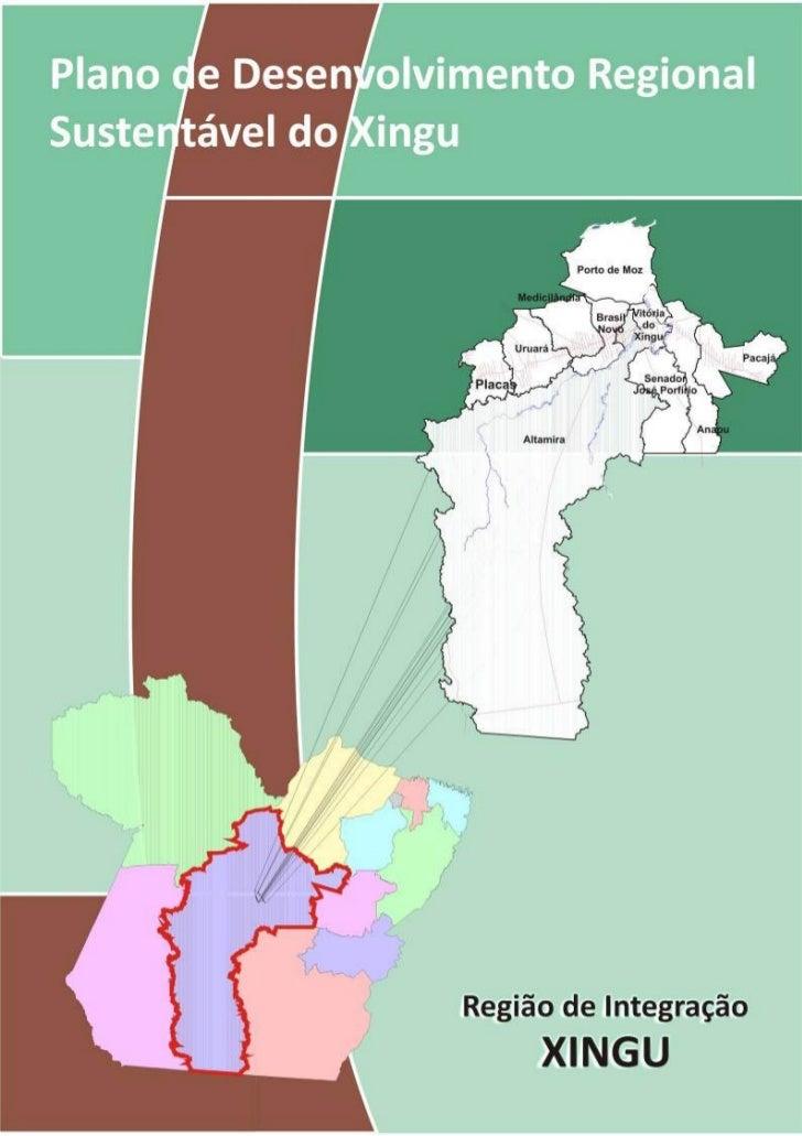 Plano de Desenvolvimento Regional Sustentável do Xingú