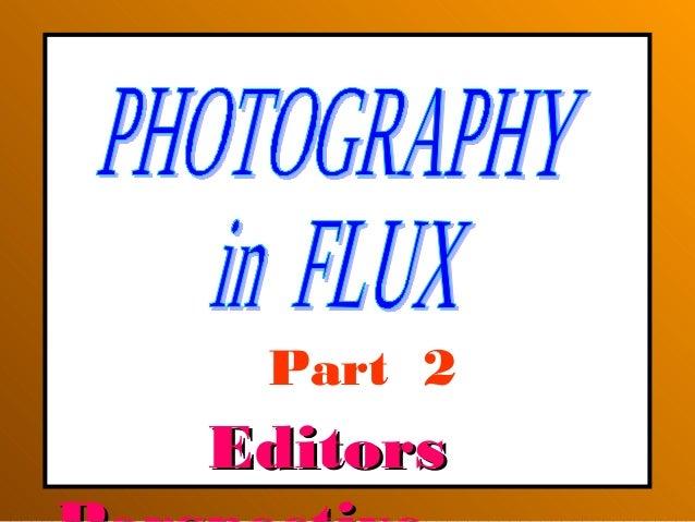 EditorsEditors Part 2