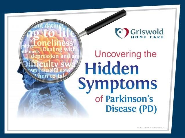 Uncovering the Hidden Symptoms of Parkinson's Disease